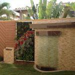 Jardin vertical con Espejos de agua